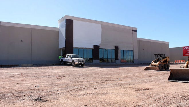 The Alamogordo Hobby Lobby at White Sands Mall is projected to open in mid-May.