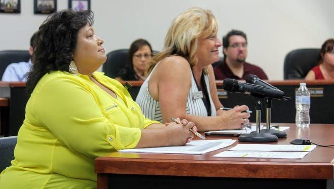 Otero County Deputy Clerk Denise Guerra and Otero County Clerk Robyn Holmes officially certified the June 5 primary election results during a special County Commission meeting Thursday.