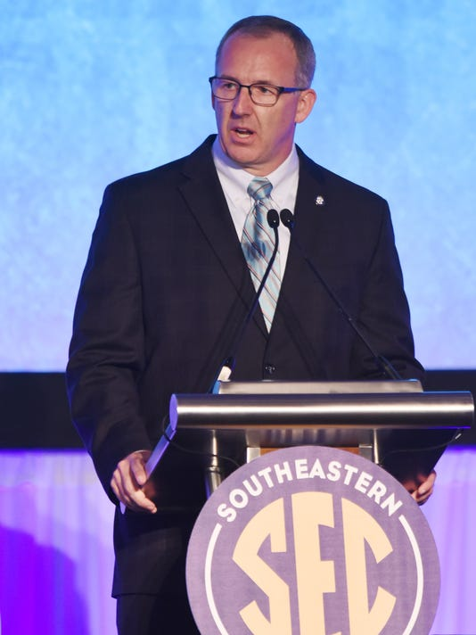NCAA Football: SEC-Media Day