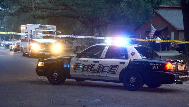 Pensacola Police are investing the scene where shots were fired off Langley Avenue.  One person is confirmed injured.