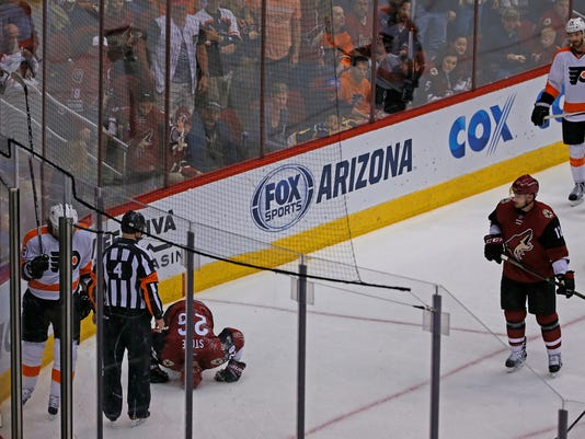 Coyotes vs. Flyers
