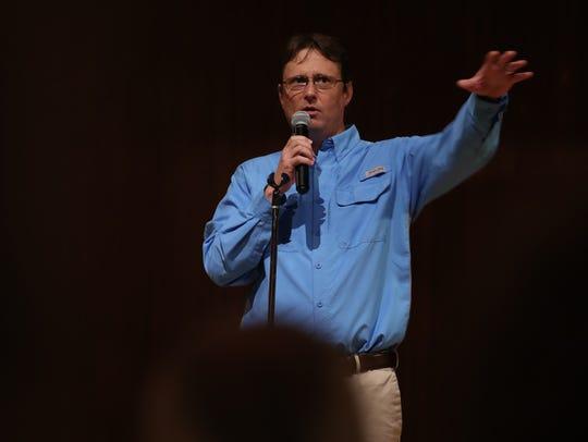 Chad Gillis, environmental reporter at The News-Press,