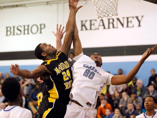 Bishop Kearney defeated McQuaid 79-67 on Friday.