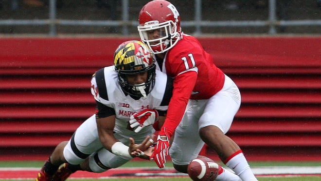 Rutgers cornerback Isaiah Wharton started all 12 games as a redshirt freshman last season.