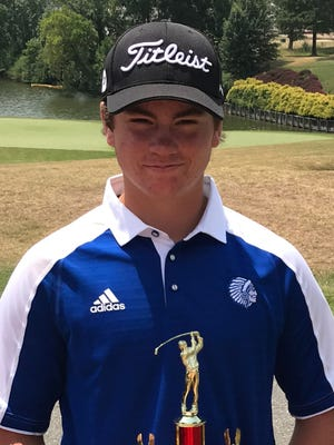 Fort Defiance's Christian Michael was the low medalist at the Valley District Golf Tournament at Shenvalee Golf Resort on Monday. He and his teammates also qualified for the Region 3C tournament.