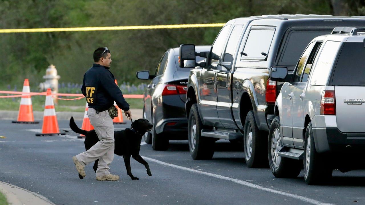 Raw: Explosion in Fedex plant near San Antonio