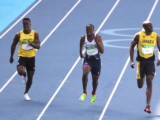 Olympics: Track and Field-Morning Session