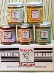 Mike's Mustard comes in 5 varieties
