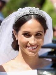 Meghan, Duchess of Sussex leaves Windsor Castle in