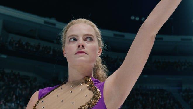 Margot Robbie stars as Tonya Harding in the biopic 'I, Tonya.'