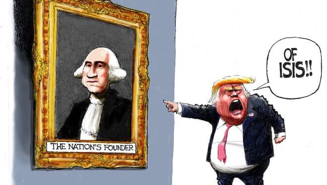 Cartoon for Aug. 17, 2016.