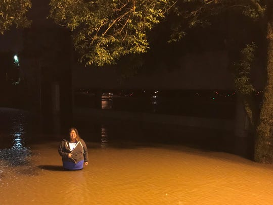 Heavy rain caused 18 inches of water to flood ArtForce