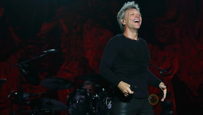 Jon Bon Jovi, here in Singapore, will play tribute to Sam Moore later this month.
