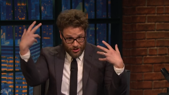 This is Seth Rogen's 'Kanye Rapping' face.