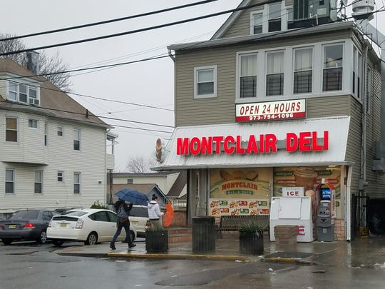 Montclair Deli in Paterson early Monday morning.