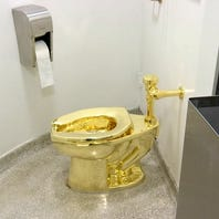 Golden toilet to Trump not as clever as museum thinks