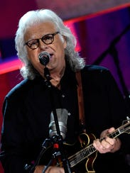 Ricky Skaggs  performs in September in Nashville, Tennessee.