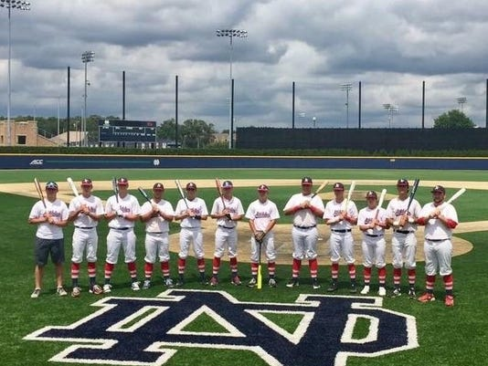 16U A's at Notre Dame