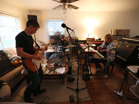 Left to right: Royce Johns, Steve Treanor and Buddy