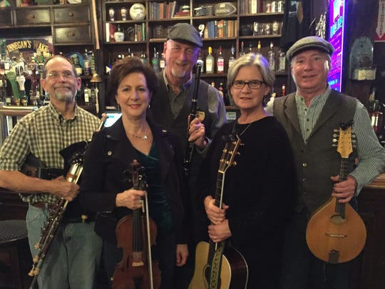 The name of the band Roisin Mo Chroi translates to Rosebud of My Heart. They'll perform at the St. Patricks Day festival on Saturday.