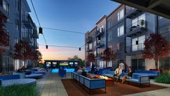 River Haus, a luxury apartment and mixed-use building,
