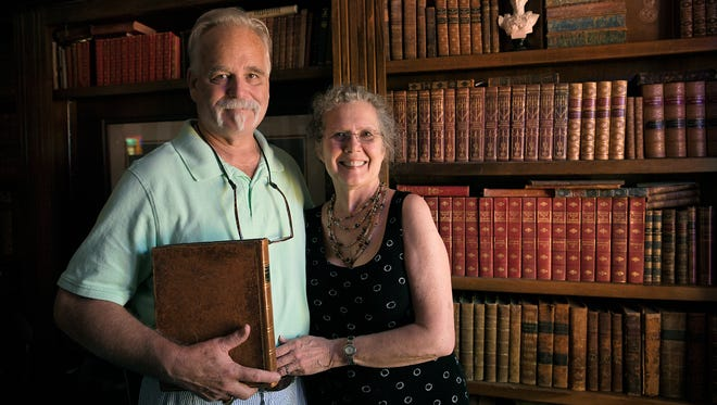 Landmark Booksellers owners Joel and Carol Tomlin will be selling some of their rare books at the Tennessee Antiquarian Book Fair which will be happening  in Franklin for the first time in its history. The event will take place at the Factory, with national booksellers ascending on Franklin.