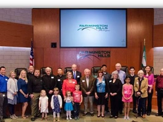 Volunteer Recognition Award Recipients