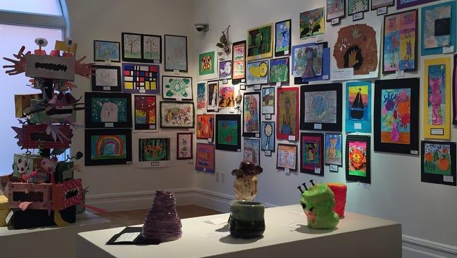 File photo of inside the Staunton Augusta Art Center in Staunton.