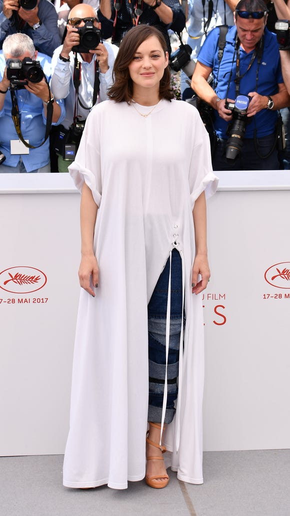 787cea92cc Cannes Film Festival fashion kicks off with Marion Cotillard in jeans