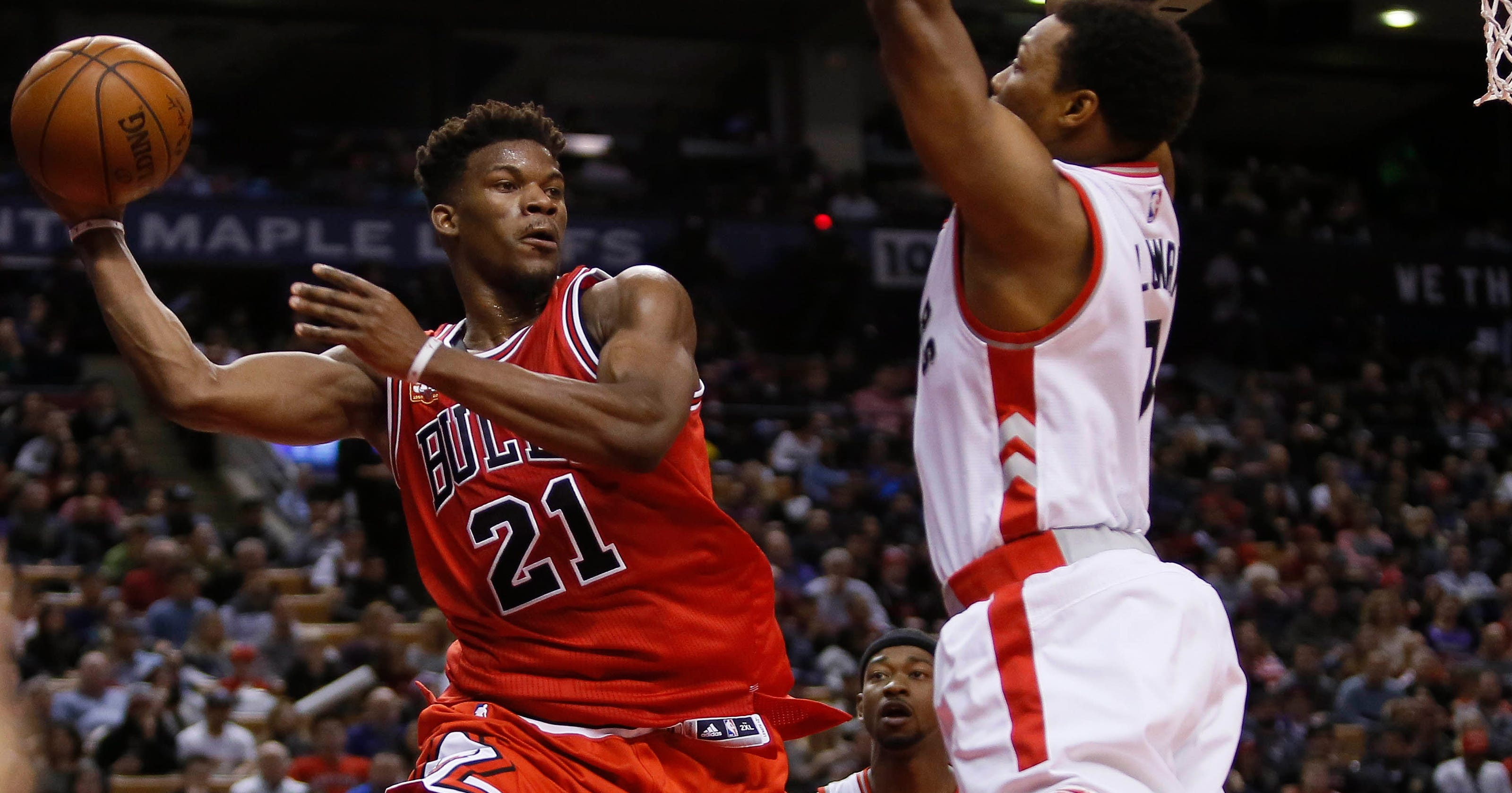 Jimmy Butler tops Michael Jordan Bulls scoring record in win over Raptors 082b7c6aa98