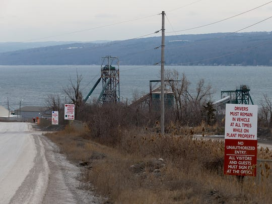 An environmental group isaccusing the Cargill Salt Mine and Department of Environmental Conservation of allowing the flow ofsodium ferrocyanideinto Cayuga Lake.