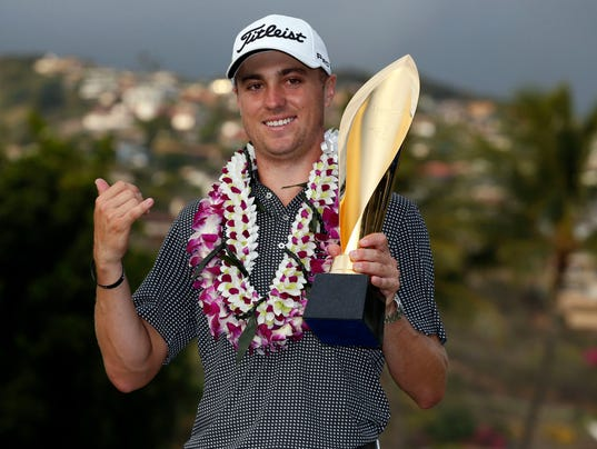 Image result for justin thomas sony open