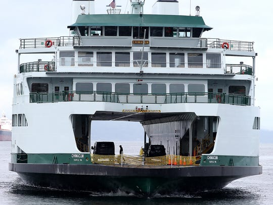 The Washington State Ferry Chimacum is expected to