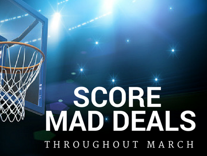 Throughout March, we'll offer Insiders bonus deals, events and extras. Don't sit on the bench! Get in the game!