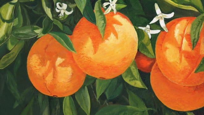 """Blooming Oranges"" by Jana Botkin"