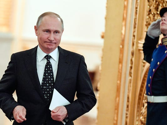 AP APTOPIX RUSSIA PUTIN I RUS