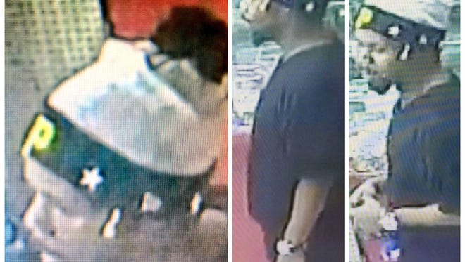 Police are looking for this man in the fatal shooting of Desaund Bell.