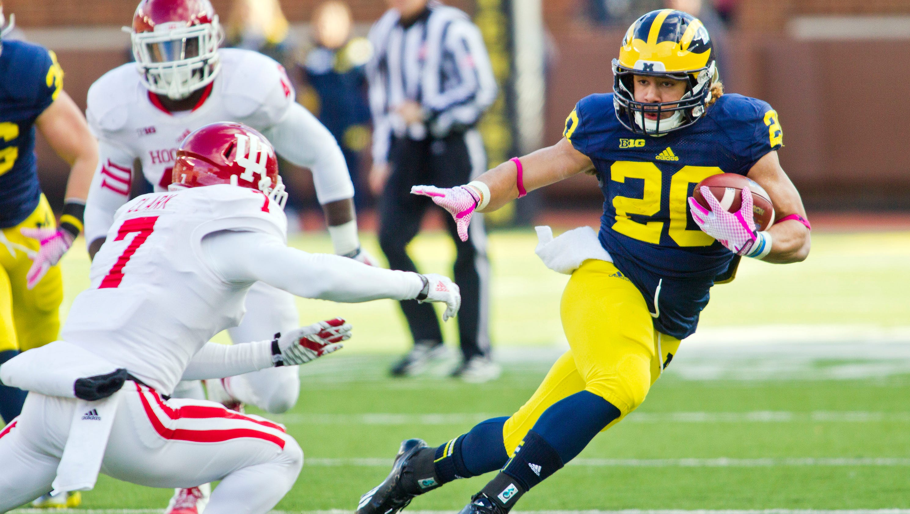 mike hart was template for michigan rb drake johnson