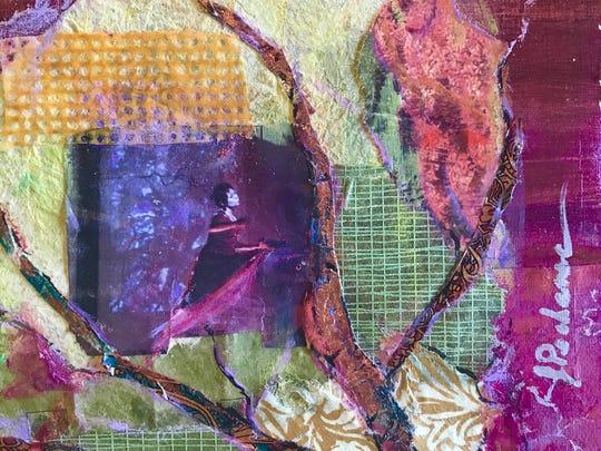 """Dream World"" by artist Joan Pechanec."