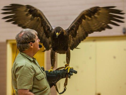 Martin Tyner eagle