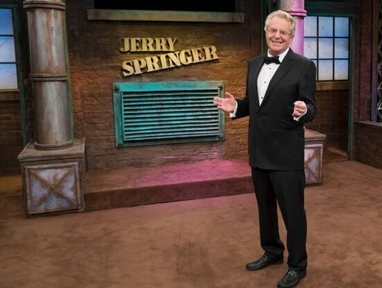 Jerry Springer in the premiere of the 25th season of