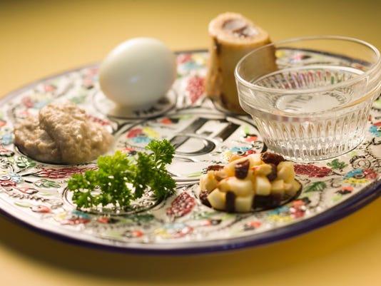 Seder plate image