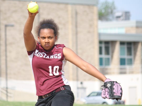 Western Hills High School pitcher Sonja Rembert delivers against Mercy on May 9.