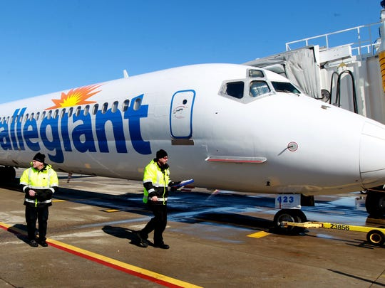 Discount carrier Allegiant Air's arrival and subsequent