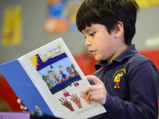 2nd Graders Self-Publish Book