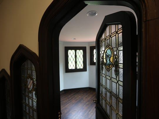 A 2017 Bergen County Historic Preservation Award went to the William H. Dean Mansion in Park Ridge. The structure, built in 1909, is now owned by Atrium Health & Senior Living. The sewing room, which is said to be haunted, is shown here on May 8.