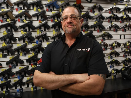 Colandro, who has owned Guns for Hire for 25 years,