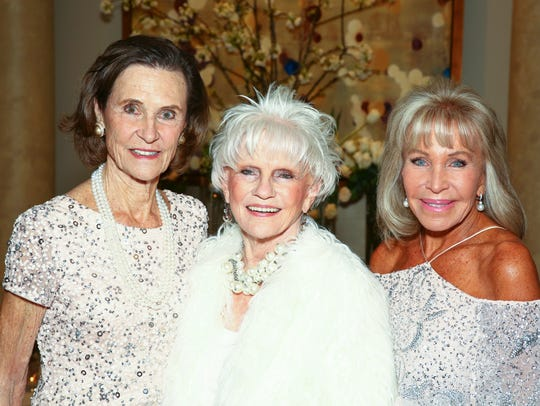 Cynthia Cottrell, Mary Latta and Peggy Berk