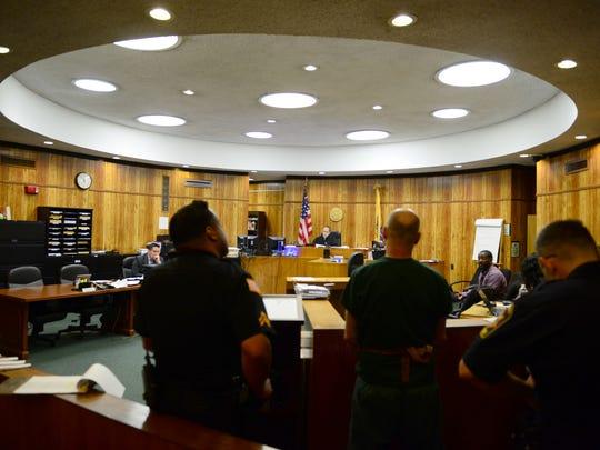 Judge Miguel de la Carrera presides over Passaic County's drug court.
