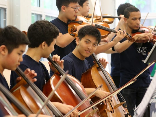 Lee performed at the Haworth Public Library in May. He heads to Harvard University in the fall, and will work to incorporate Back to Bach as a nonprofit organization, expanding it to five additional countries. He also plans to continueplaying cello internationally.